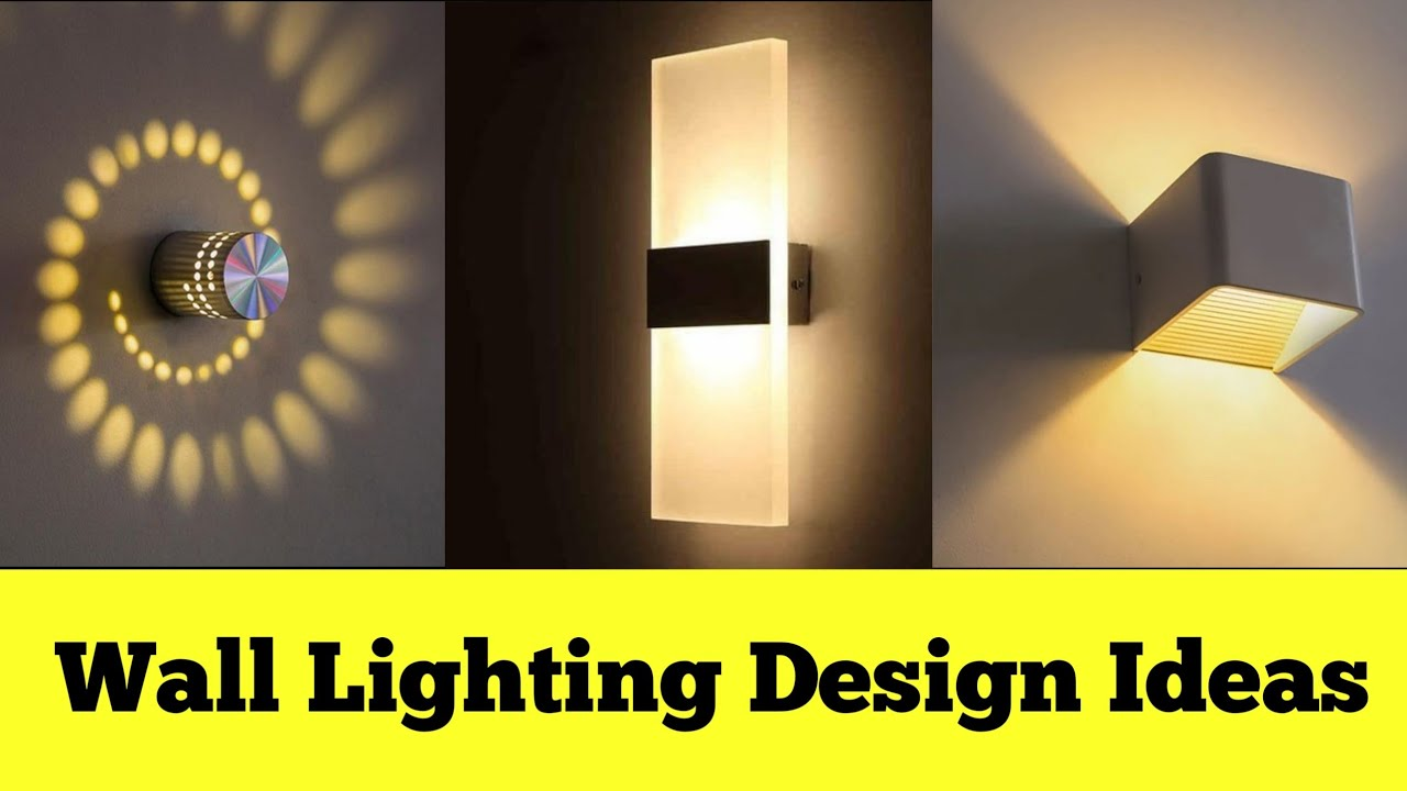 House Exterior Wall Lights Ideas Wall Lighting Design Ideas Wall Decoration Lights Youtube