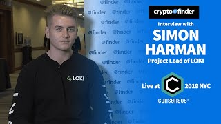 Simon Harman of LOKI discusses privacy & internet 3.0 | Consensus 2019