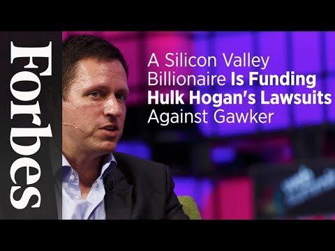 A Silicon Valley Billionaire Is Funding Hulk Hogan
