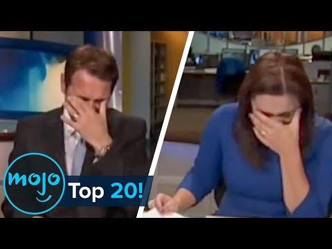 Top 20 Hilarious News Reporting Fails!