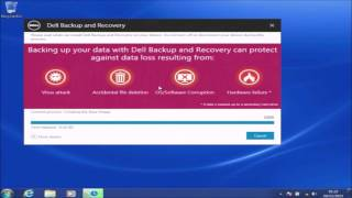 A Clean Install of Windows 7 -  Dell Backup and Recovery