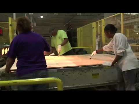 Made In South Pittsburg: Shaw Hardwood Flooring