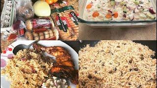 Pakistani Desi Mom Vlog/Chicken Tikka/Bondi/Choliya Pulao 😊