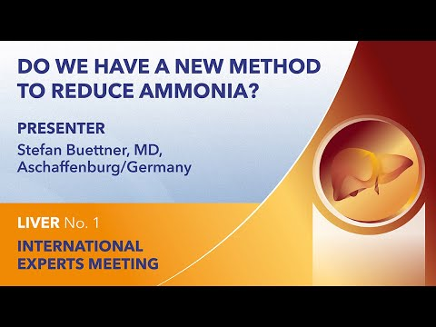Do we have a new method to reduce ammonia? | Stefan Buettner | Liver Webinar No. 1 | 2021