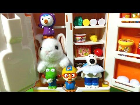 뽀로로와 수상한 냉장고 ★뽀로로 장난감 애�