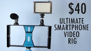$40 Smartphone Video Rig Review! Awesome or Trash?
