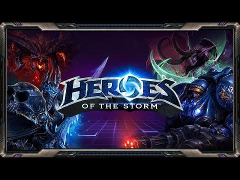 видео: heroes of the storm. Несколько игр [13 июля]