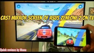 Video Cast mirror screen of Asus Zenfone 2 / 3 / 4 on TV - Do console gaming download MP3, 3GP, MP4, WEBM, AVI, FLV Agustus 2018
