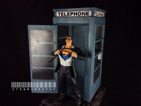 1/4 Scale Clark Kent with Phone Booth Statue by Garage Statues Review