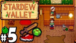 Stardew Valley Gameplay Walkthrough PART 5 - Adventurer's Guild, Shoes, Furnace, Museum, Bundle PC