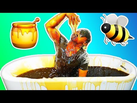 HONEY BATH CHALLENGE!