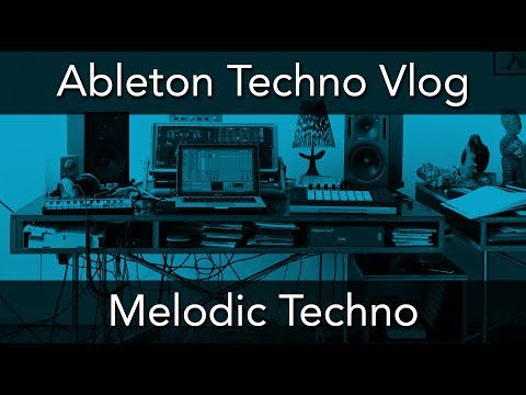ABLETON TECHNO VLOG - Melodic Techno Track Part 1 - Finding Ideas