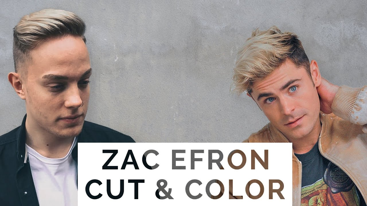 how to style your hair like zac efron zac efron balayage s haircut amp style 6127