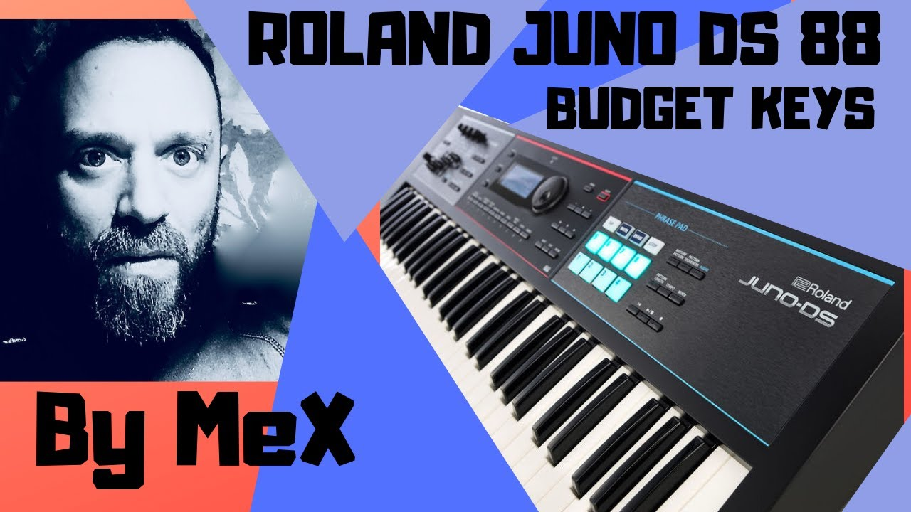 roland juno ds 88 nordstage3 by mex enzo messina youtube. Black Bedroom Furniture Sets. Home Design Ideas
