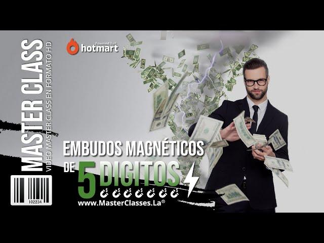 Embudos Magnéticos de 5 Dígitos - Desarrolla embudos que atraigan.