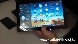 Samsung Series 7 Slate - Windows 7 Tablet PC - Hardware Features - Part 3