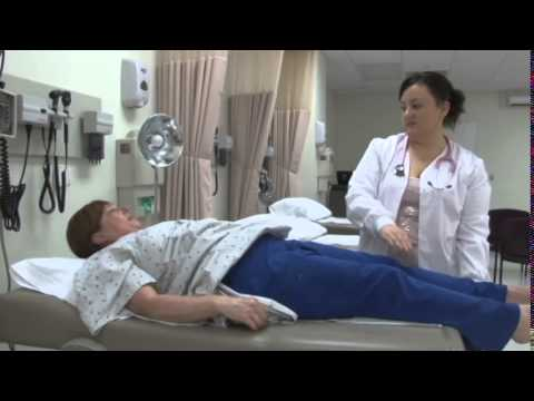 teaching self testicular examination - YouTube