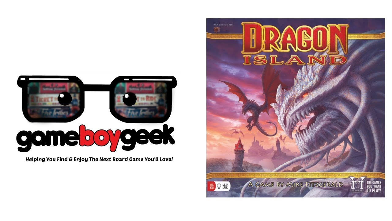 Dragon Island Review with the Game Boy Geek