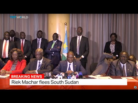 South Sudan Conflict: Riek Machar flees South Sudan, TRT World's Zeina Awad weighs in