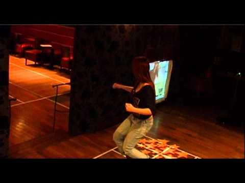 Dance 3 projection