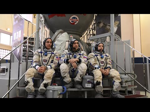 Старт экспедиции-63 с Байконура на МКС