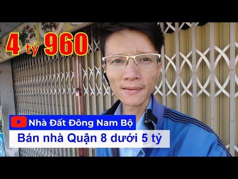 Chính chủ Bán nhà Quận 8 dưới 5 tỷ mới nhất, gần cầu Nguyễn Tri Phương