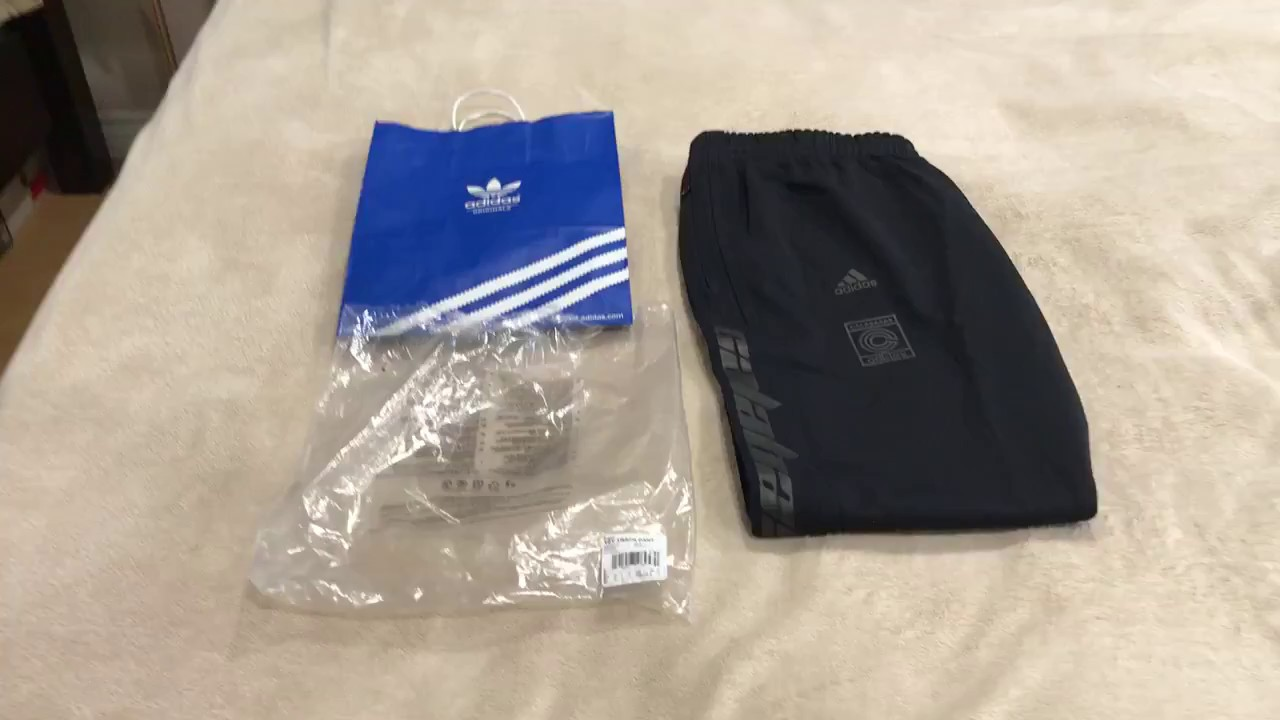 39643ecb728af Adidas Yeezy Calabasas Sweatpants   Track Pant Review (FIRST ON YOUTUBE)