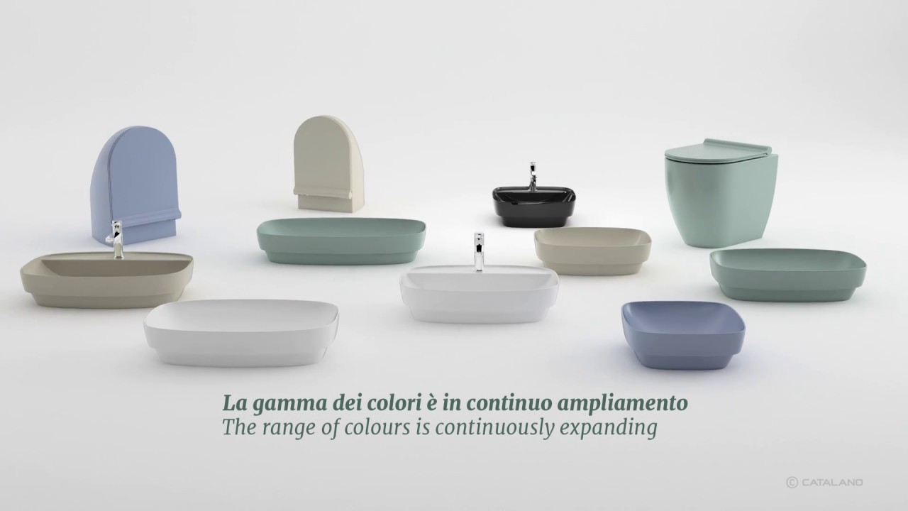 Ceramica catalano new collection colori youtube for Ceramica catalano