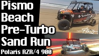 pismo beach pre turbo sand dune run polaris rzr 900 4 rockford sound system