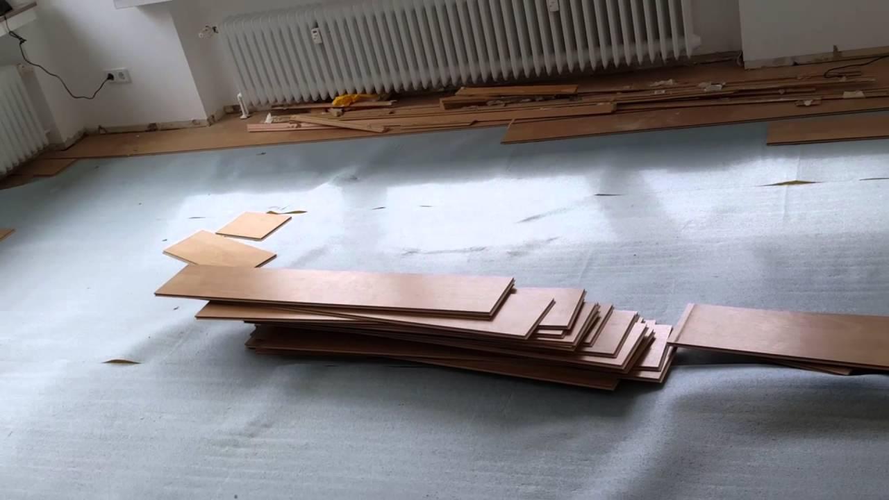 Bekannt Haus renovieren #02 - Laminat entfernen und Teppich rausreißen CG24