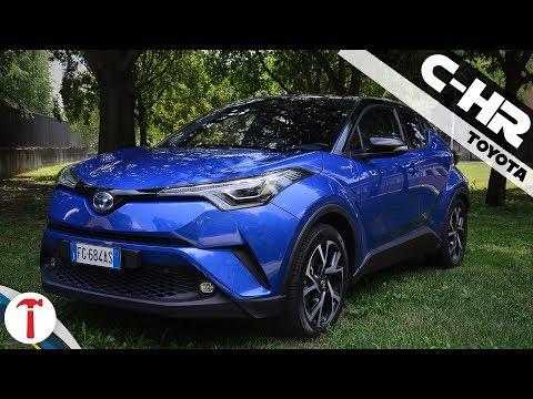Prova su strada del nuovo crossover ibrido Toyota C-HR