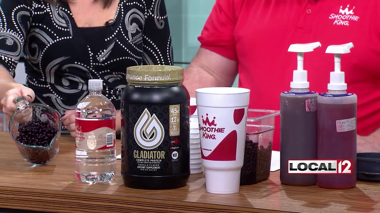 Smoothie King Shows How To Blend Up Healthy Drinks Youtube