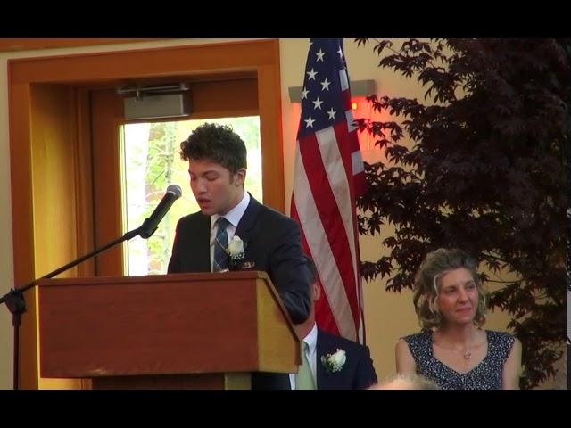 2017 Graduation Speech: Alec Steinhorn