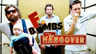 THE HANGOVER - F-Bombs (2009) Todd Phillips, Bradley Cooper, Ed Helms, Zach Galifianakis comedy