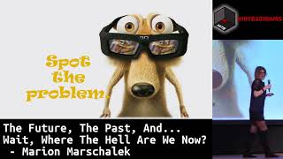 #HITB2018AMS KEYNOTE 1: The Future, The Past, and … Wait, Where the Hell are We Now? - M. Marschalek