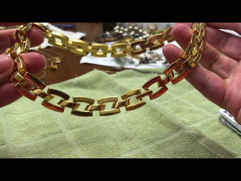 part 2 Vintage jewelry antique shop haul