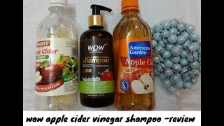 wow apple cider vinegar shampoo - Review