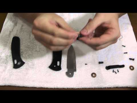 Устройство ножей #3: Benchmade Presidio AXIS disassembly