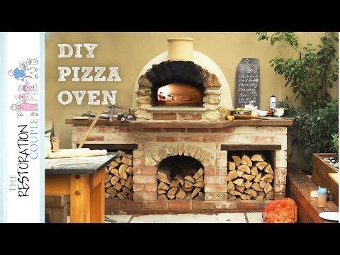 Amazing DIY Pizza Oven - Complete Build