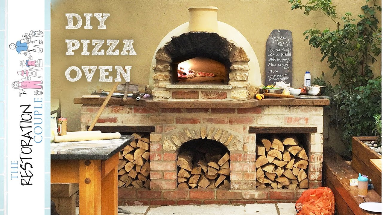 Outdoor Kitchen Plans Cabinet Knobs Cheap Amazing Diy Pizza Oven - Complete Build Youtube