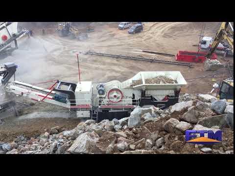 Mining Equipment-Mobile Crusher For Sale
