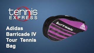 Adidas Barricade IV Tour Tennis Bag Review | Tennis Express