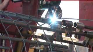 RAVEN PL Sp. z o. o. - Usługi - Produkcja koszy zbrojeniowych do pali.wmv