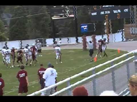 GW Patriots High School Football Crouser