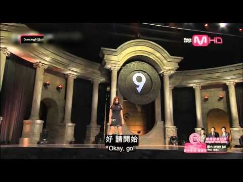 [ENG sub & 中字] 140620 Dancing9 S2 EP02 - SKarf's Tasha