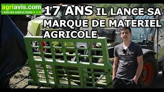 A 17 ANS PAUL LANCE SA MARQUE DE MATÉRIEL AGRICOLE !