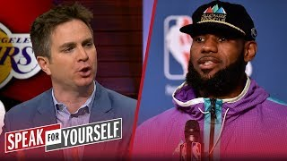 Chris Mannix on the 'LeBron circus' and KD trash talking to CJ McCollum | NBA | SPEAK FOR YOURSELF