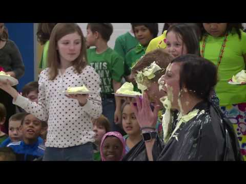 Lincoln Elementary Performing Arts School – Pie Toss
