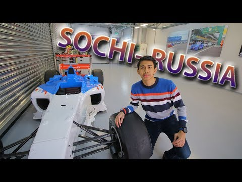 Kota Rusia serasa di Indonesia + Sirkuit F1 Sochi Autodrom - VLOG in Sochi