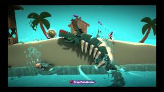 Little Big Planet 2 - Sea Monster Survival
